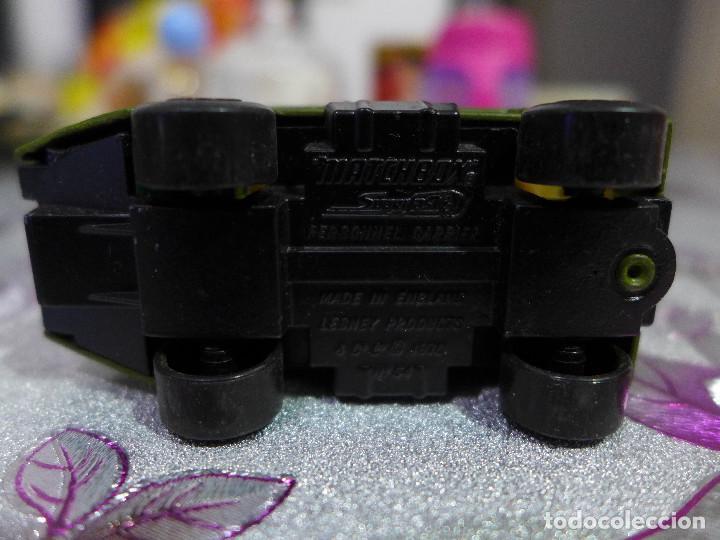 Coches a escala: PERSONNEL CARRIER Nº 54 DE MATCHBOX SUPERFAST LESNEY - Foto 6 - 263601200