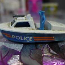 Coches a escala: Nº 52 POLICE LAUNCH DE MATCHBOX SUPERFAST LESNEY. Lote 263612345
