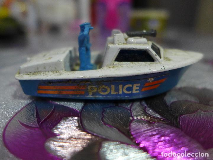 Coches a escala: Nº 52 POLICE LAUNCH DE MATCHBOX SUPERFAST LESNEY - Foto 2 - 263612345