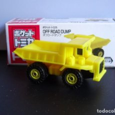 Coches a escala: OFF ROAD DUMP POCKET TOMICA P027 TOMY TAITO. Lote 263721775