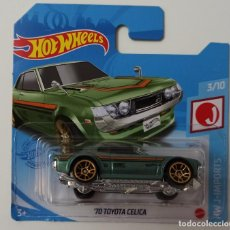 Coches a escala: HOT WHEELS '70 TOYOTA CELICA. HW J-IMPORTS 3/10 (3). Lote 263722645
