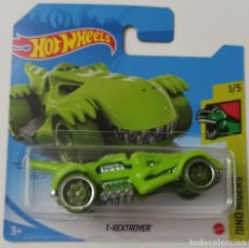 Coches a escala: HOT WHEELS T-REXTROYER. DINO RIDERS 1/5. Lote 263807055