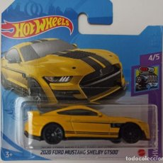 Coches a escala: HOT WHEELS 2020 FORD MUSTANG SHELBY GT500. HW TORQUE 4/5 (2). Lote 265501309