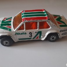 Voitures à l'échelle: FIAT 131 ABARTH ALITALIA DE MATCHBOX. Lote 266401583