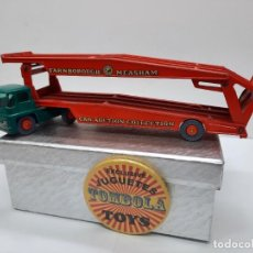 Coches a escala: MATCHBOX GUY WARRIOR TRACTOR KING SIZE K-8 LESNEY. Lote 267115184