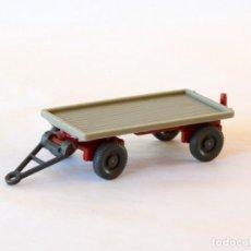 Carros em escala: WIKING ESCALA H0 1:87 REMOLQUE PLATAFORMA. Lote 268620284