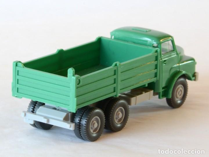Coches a escala: Wiking Escala H0 1:87 Camión Volquete MAN - Foto 3 - 268719054