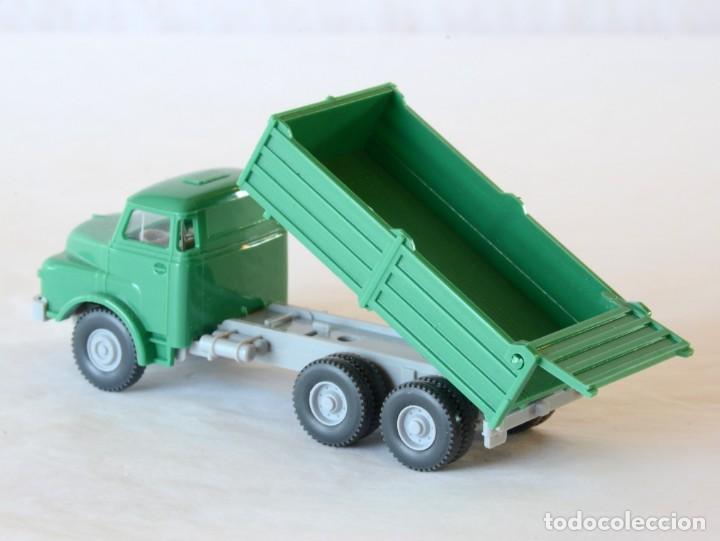Coches a escala: Wiking Escala H0 1:87 Camión Volquete MAN - Foto 5 - 268719054