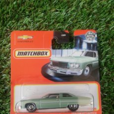 Coches a escala: MATCHBOX METAL CHEVY CAPRICE 1975. Lote 269076518