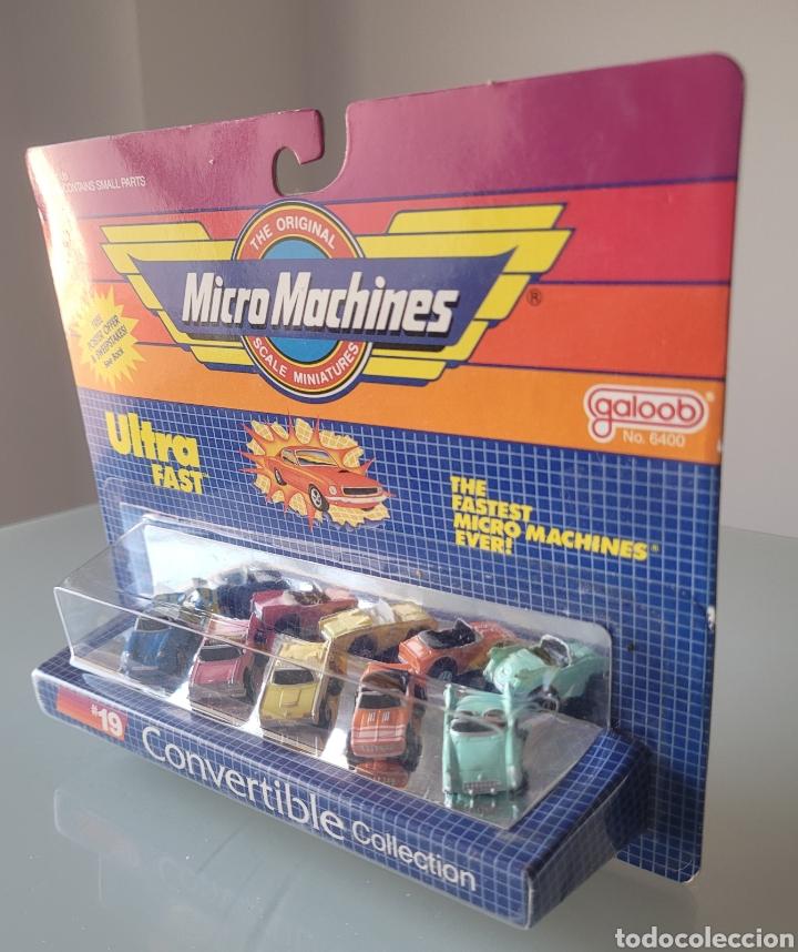 """Coches a escala: Blister """"NUEVO"""" Micro Machines, CONVERTIBLE 19 - Foto 9 - 269082433"""