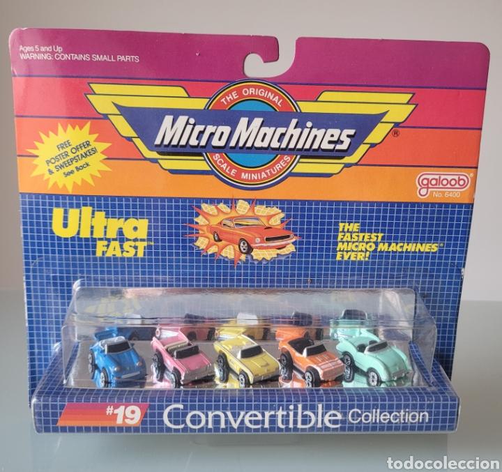 "BLISTER ""NUEVO"" MICRO MACHINES, CONVERTIBLE 19 (Juguetes - Coches a Escala Otras Escalas )"