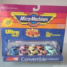 """Coches a escala: BLISTER """"NUEVO"""" MICRO MACHINES, CONVERTIBLE 19. Lote 269082433"""