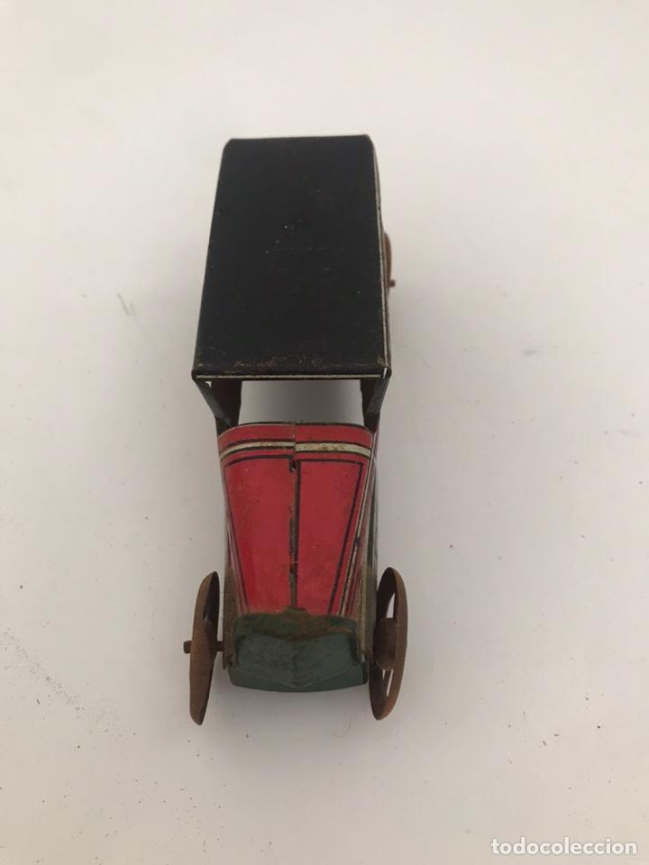 Coches a escala: Coche hojalata. Vintage. marca rico. 10cm - Foto 2 - 269086453