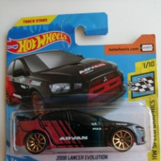 Coches a escala: HOT WHEELS 2008 LANCER EVOLUTION ADVAN LIVERY. HOTWHEELS 1/64. HW SPEED GRAPHICS 2020.. Lote 269352993