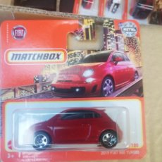 Coches a escala: MATCHBOX METAL FIAT 500 TURBO 2019. Lote 269683843