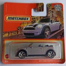 Voitures à l'échelle: MATCHBOX 2010 MINI COOPER S CABRIO (2). Lote 269691123
