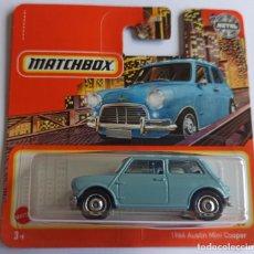 Voitures à l'échelle: MATCHBOX 1964 AUSTIN MINI COOPER (2). Lote 269794488
