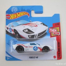 Coches a escala: HOT WHEELS 1/64 1:64 - FORD GT-40. Lote 270204373