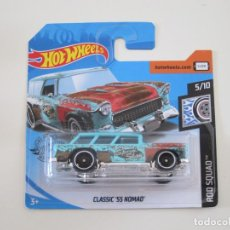 Coches a escala: HOT WHEELS 1/64 1:64 - CLASSIC '55 NOMAD. Lote 270204518