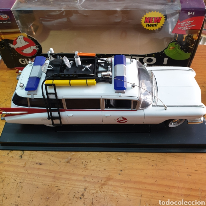Coches a escala: Cazafantasmas Ecto I Ambulancia + Slimer Joyride 1:21 (L) - Foto 4 - 272903903