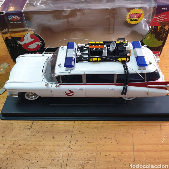 Coches a escala: Cazafantasmas Ecto I Ambulancia + Slimer Joyride 1:21 (L) - Foto 7 - 272903903