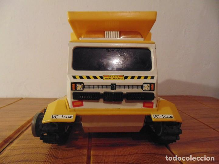 Coches a escala: Camión de Construcción serie Oruga Juguetes CLIM VC-1 Años 80s (leer descripción) - Foto 2 - 276913398