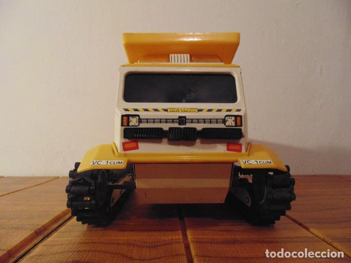 Coches a escala: Camión de Construcción serie Oruga Juguetes CLIM VC-1 Años 80s (leer descripción) - Foto 3 - 276913398