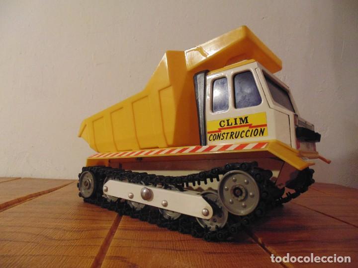 Coches a escala: Camión de Construcción serie Oruga Juguetes CLIM VC-1 Años 80s (leer descripción) - Foto 4 - 276913398