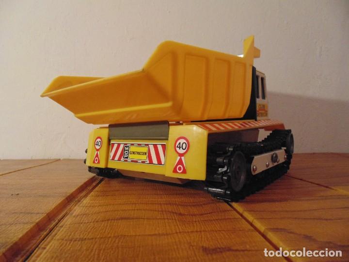 Coches a escala: Camión de Construcción serie Oruga Juguetes CLIM VC-1 Años 80s (leer descripción) - Foto 5 - 276913398
