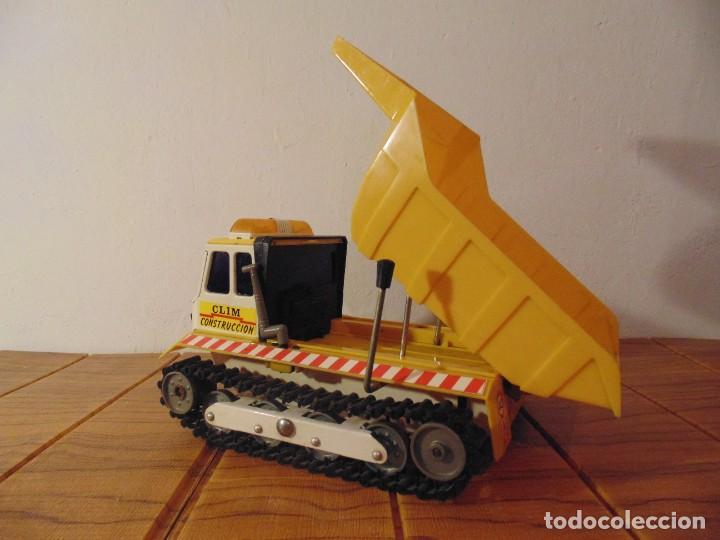 Coches a escala: Camión de Construcción serie Oruga Juguetes CLIM VC-1 Años 80s (leer descripción) - Foto 6 - 276913398
