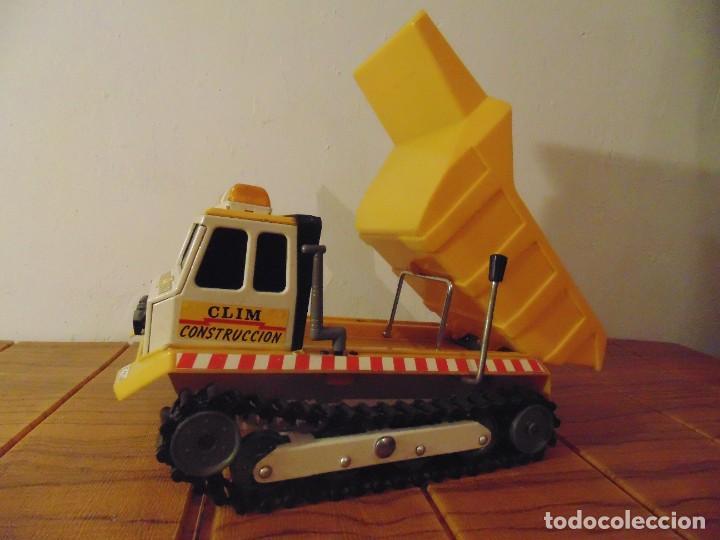 Coches a escala: Camión de Construcción serie Oruga Juguetes CLIM VC-1 Años 80s (leer descripción) - Foto 7 - 276913398
