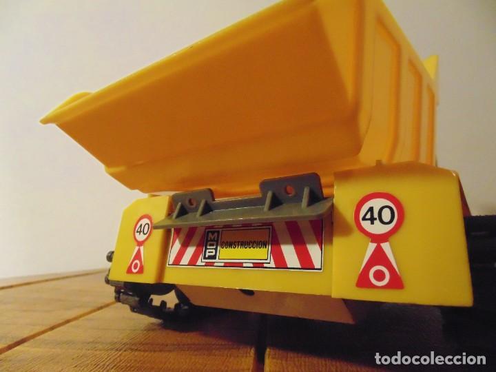 Coches a escala: Camión de Construcción serie Oruga Juguetes CLIM VC-1 Años 80s (leer descripción) - Foto 9 - 276913398