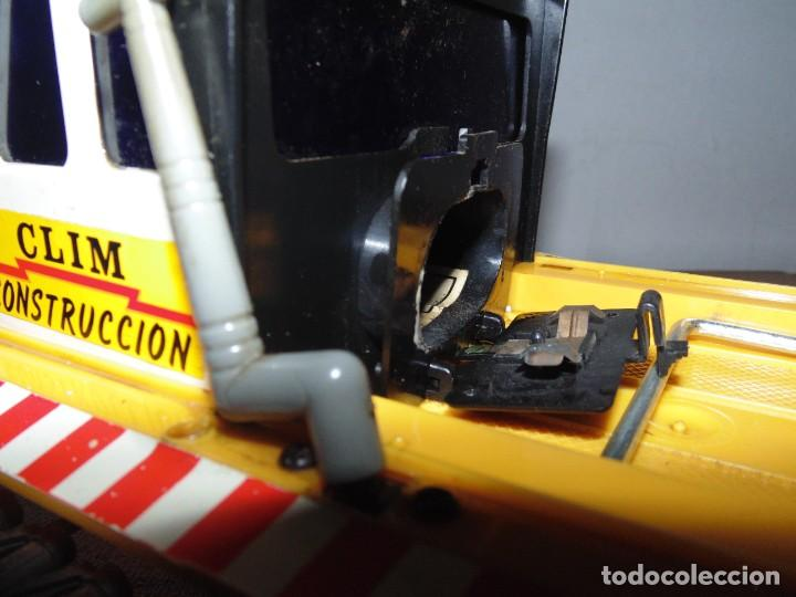 Coches a escala: Camión de Construcción serie Oruga Juguetes CLIM VC-1 Años 80s (leer descripción) - Foto 14 - 276913398