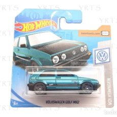 Coches a escala: HOT WHEELS VOLKSWAGEN GOLF MK2 SCALE 1:64 METAL ¡NEW!. Lote 277303353