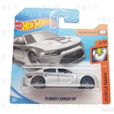 Coches a escala: HOT WHEELS 2015 DODGE CHARGER SRT SCALE 1:64 METAL ¡NEW!. Lote 277303668