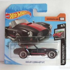Coches a escala: HOT WHEELS - 2020 - HW ROADSTERS - SHELBY COBRA 427 SC. Lote 277304088