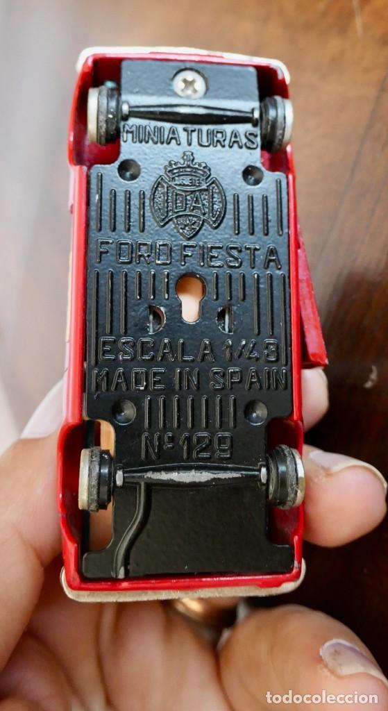 Coches a escala: JOAL - FORD FIESTA RALLYE MONTECARLO Nº 129 - ESCALA 1:43 - Foto 7 - 278211813
