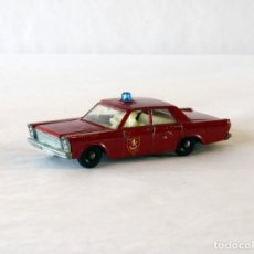Voitures à l'échelle: MATCHBOX LESNEY MADE IN ENGLAND Nº55 / 59 FORD GALAXIE FIRE CHIEF. Lote 278225028
