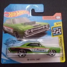 Coches a escala: HOT WHEELS 68 DODGE DART 5/10 HW SPEED GRAPHICS 70/250 2020.. Lote 279590308