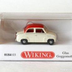 Auto in scala: WIKING ESCALA 1:87 H0 GLAS GOGGOMOBIL CON CAJA ORIGINAL. Lote 287745498