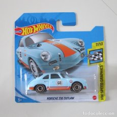 Coches a escala: HOT WHEELS HW SPEED GRAPHICS PORSCHE 356 OUTLAW GULF. Lote 288937618