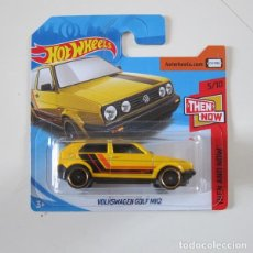 Coches a escala: HOT WHEELS HW THEN AND NOW VW VOLKSWAGEN GOLF MK2. Lote 288941668
