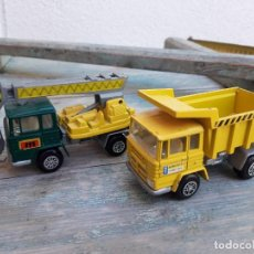 Coches a escala: 2 CAMIONES PEGASO 1/64. MIRA MADE IN SPAIN. Lote 288945938