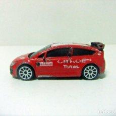 Coches a escala: C4 CITROEN SPORT CONCEPT CAR 2007 RALLYE MONTE-CARLO #1 MAJORETTE Nº 254I ESCALA 1:57 - COCHE TOTAL. Lote 289912478