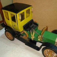 Auto in scala: ANTIGUO COCHE GUISVAL CLASICO MODELO BIANCHI 1906 DE 32 CM DE LARGO- MUY RARO. Lote 294167073