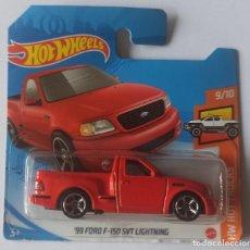 Auto in scala: HOT WHEELS '99 FORD F-150 SVT LIGHTNING. HW HOT TRUCKS 9/10. Lote 296634458