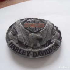 Coches: HEBILLA CINTURÓN HARLEY DAVIDSON MOTOR CICLES . Lote 78315441