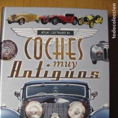 Coches: ATLAS ILUSTRADO DE COCHES MUY ANTIGUOS.- EDITORIAL SUSAETA. Lote 79630709