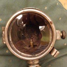 Coches: FARO DE CARBURO BUJIA PARA COCHE . V. BALLESTER .VALENCIA. PPIOS SIGLO XX. Lote 82812456