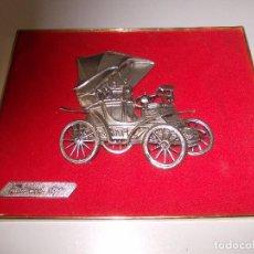 Coches: CUADRO FIAT MOD. 1899. REF. Nº 50352. MANUFACTURAS RODEX ZARAGOZA. Lote 103062823